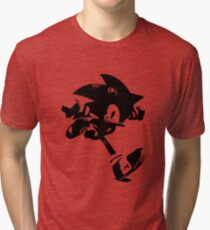 Weathered Sonic Tri-blend T-Shirt