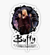 Buffy Slayers Club Sticker