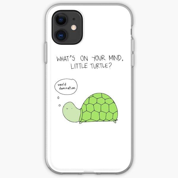 Turtle World Domination iPhone Soft Case