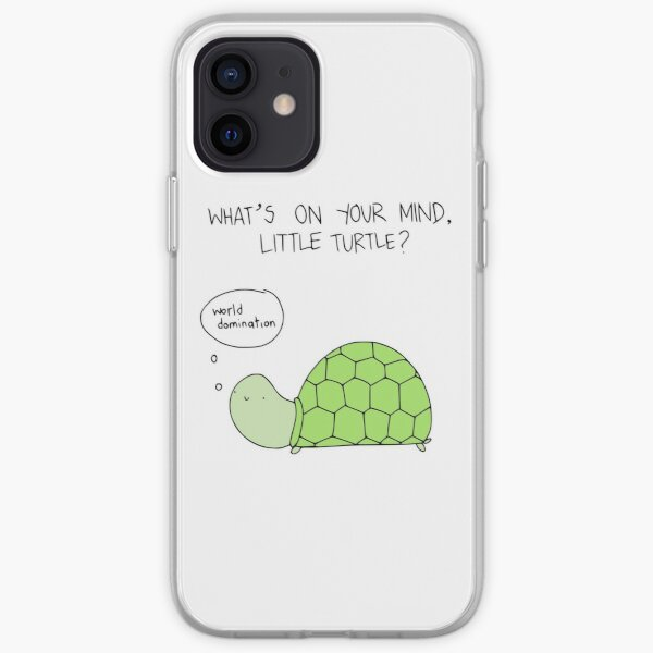 Turtle World Domination iPhone Soft Case