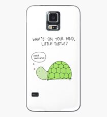 Funda/vinilo para Samsung Galaxy Turtle World Domination
