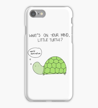 Turtle World Domination iPhone Case/Skin
