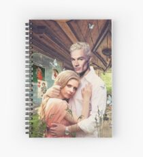Buffy & Spike Spiral Notebook