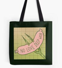 No Web Deep Love Tote Bag