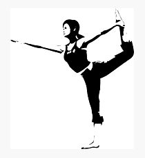 Weathered Wii Fit Trainer Photographic Print