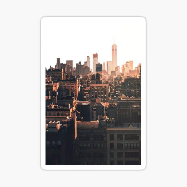 NYC Rooftop ii Sticker