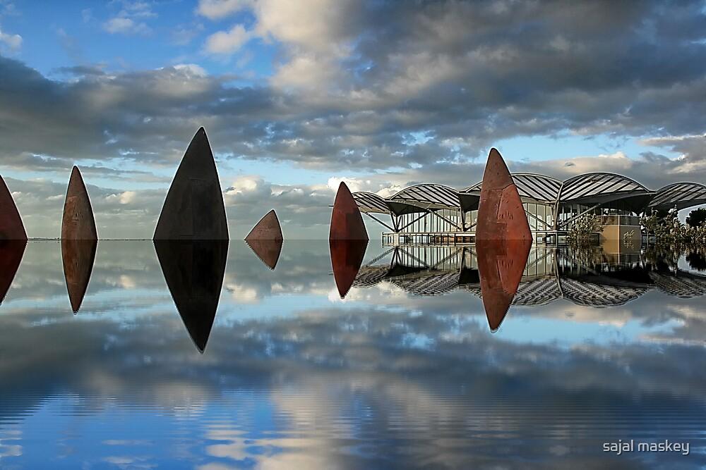reflection by sajal maskey