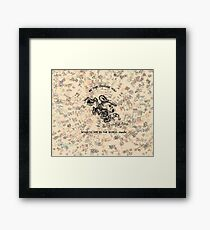 Be the Change you wish... Framed Print