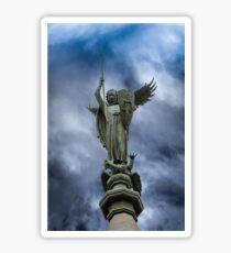 Saint Michael, The Nidaros Cathedral in Trondheim, Norway. Sticker