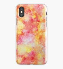 Warm Toned Watercolor iPhone Case/Skin