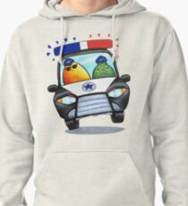 Let's Fight Crime With Mangoes and Limes Pullover Hoodie