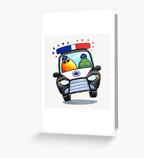 Let's Fight Crime With Mangoes and Limes Greeting Card