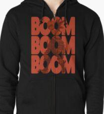 Sudadera con capucha y cremallera Boom Boom Boom - Bakugou Katsuki