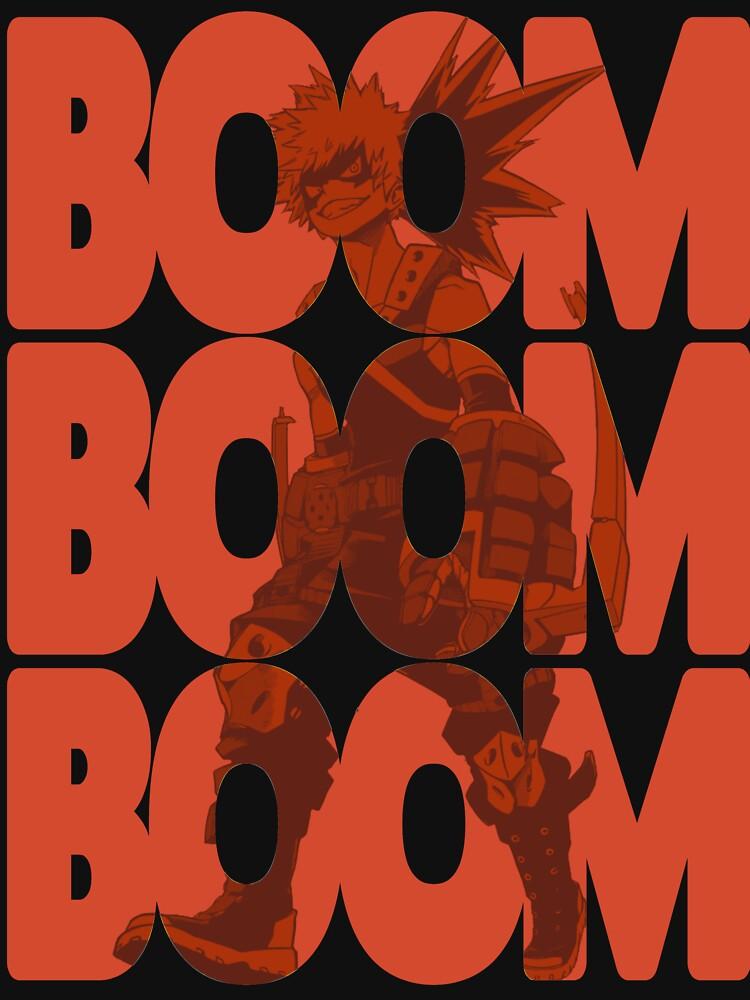 Boom Boom Boom - Bakugou Katsuki  by DarksStars