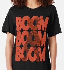 Boom Boom Boom - Bakugou Katsuki  Slim Fit T-Shirt