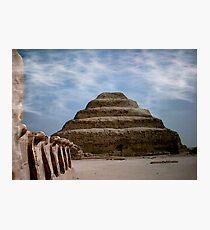 sakkara egypt Photographic Print
