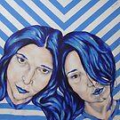 stripey sisters by Jeremy McAnally