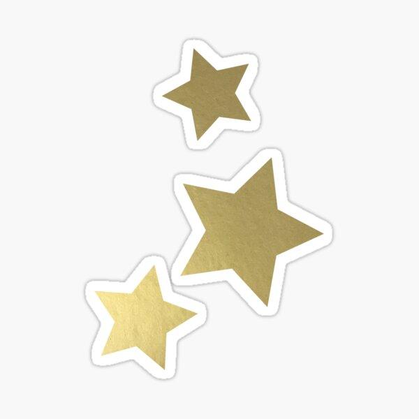 Gold Stars Sticker
