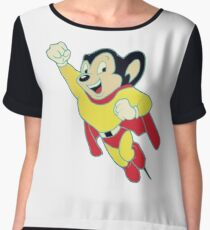 Mighty Mouse Chiffon Top
