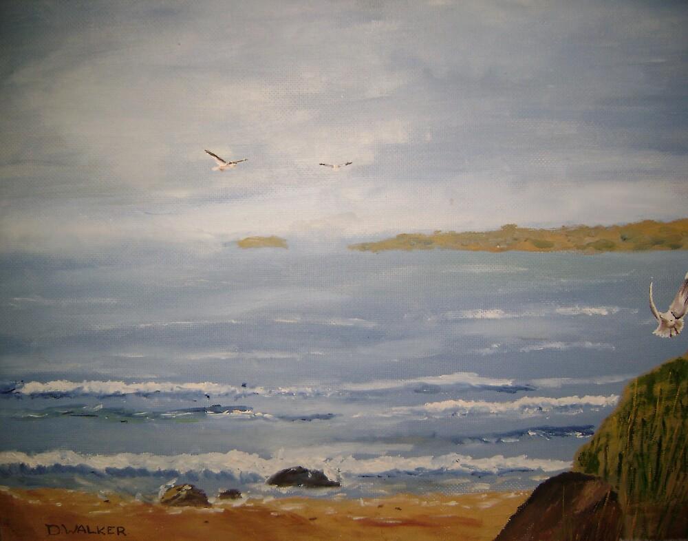 Peaceful Ocean by Debra Lohrere