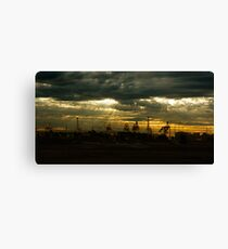 Dr Lands Canvas Print