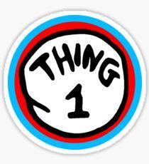 Thing 1 Sticker