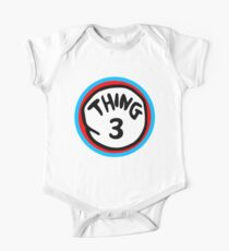 Thing 3 One Piece - Short Sleeve