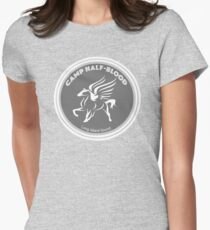 Camp Half Blood Medallion Design  Womens Fitted T-Shirt