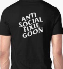 ANTI SOCIAL FIXIE GOON BIG LOGO SHIRT Unisex T-Shirt