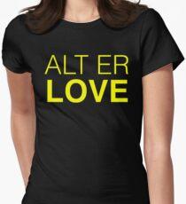 SKAM ALT ER LOVE Womens Fitted T-Shirt