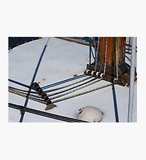 Boat Rigging. Photographic Print