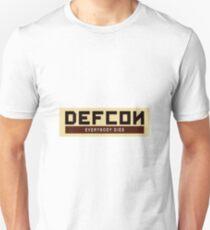 Defcon everybody dies Unisex T-Shirt