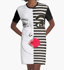Fashion girl Graphic T-Shirt Dress