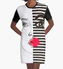 Fashion girl Graphic T-Shirt Dress