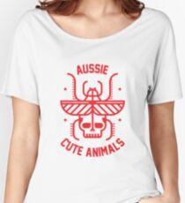 Aussie cute animals Women's Relaxed Fit T-Shirt