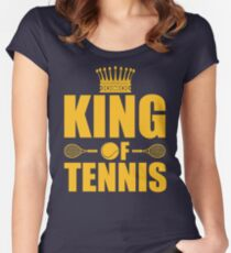 King of Tennis Women's Fitted Scoop T-Shirt