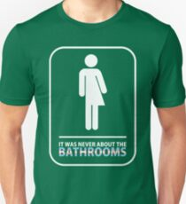 Official John Barrowman - Bathrooms Tee Unisex T-Shirt