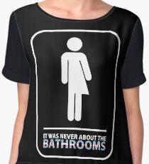 Official John Barrowman - Bathrooms Tee Chiffon Top