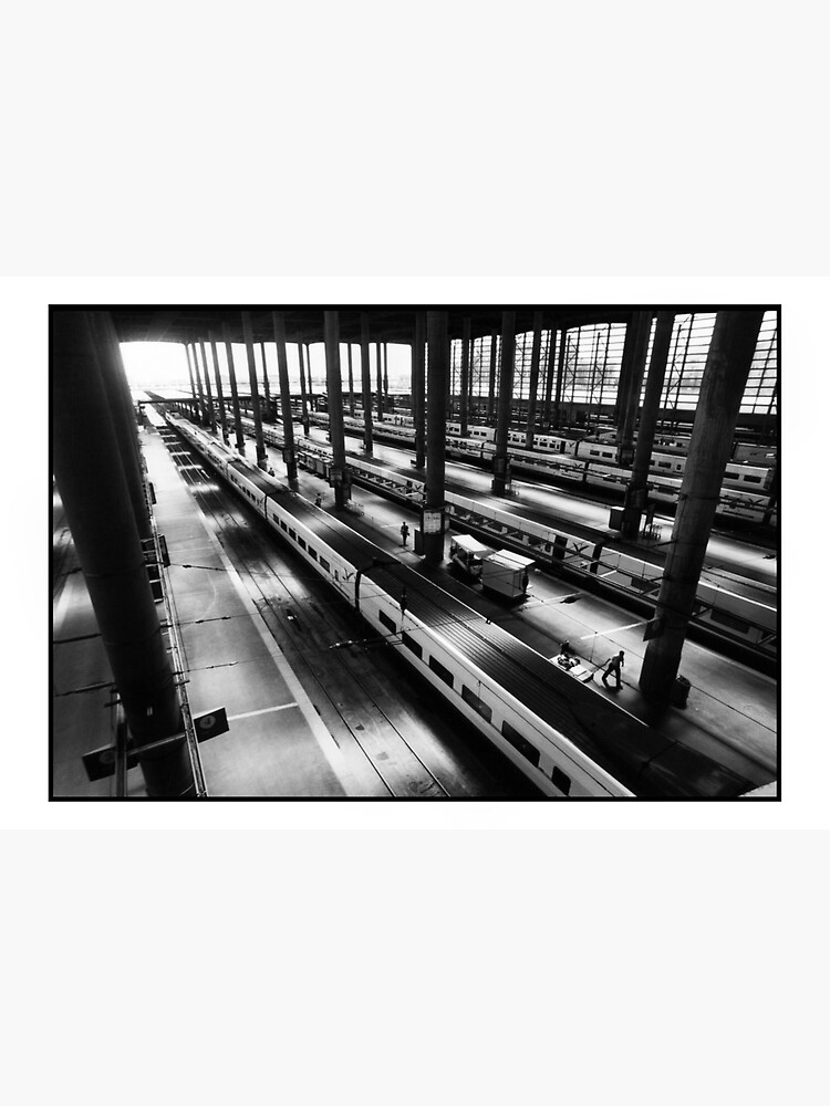 Atoche Train Station Madrid A to B by rogues70