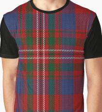 Cameron of Lochiel (Hunting) Clan/Family Tartan Graphic T-Shirt