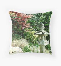 Gardens of the Villa Rothschild, Cap Ferrat, South of France Throw Pillow