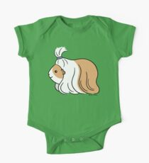 Guinea-pig Tail - long haired cavy One Piece - Short Sleeve