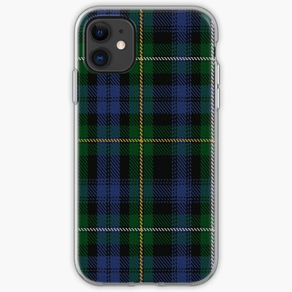 Campbell of Argyll Clan/Family Tartan  iPhone Soft Case