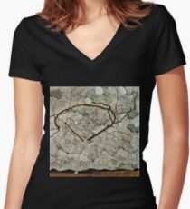 Egon Schiele - Autumn Tree In Stirred Air (Winter Tree) 1912 Women's Fitted V-Neck T-Shirt