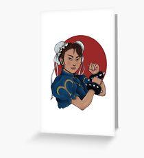 Chun-Li Greeting Card