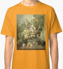 Eelke Jelles Eelkema - Still Life With Flowers And Fruit, 1815 Classic T-Shirt