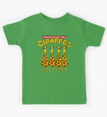 Teenage Mutant Ninja Giraffes Kids Tee