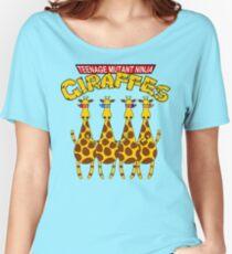 Teenage Mutant Ninja Giraffes Women's Relaxed Fit T-Shirt