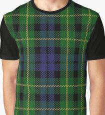 Campbell of Breadalbane #3 Clan/Family Tartan  Graphic T-Shirt
