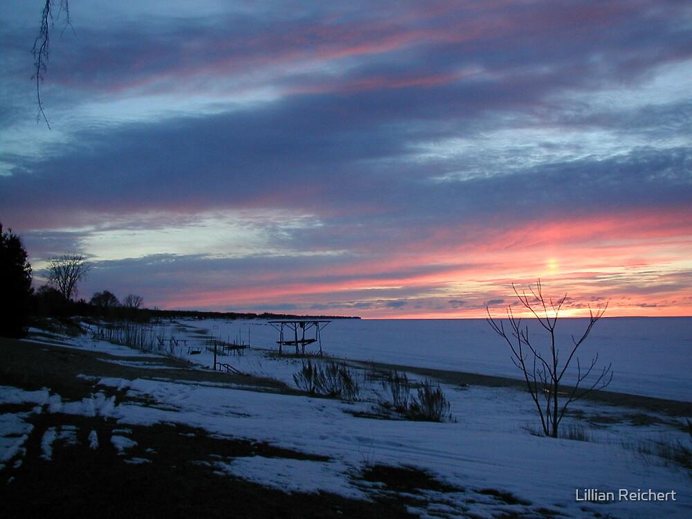 Ice Cold Sun Set by Lillian Reichert
